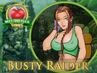 Busty Raider Icon
