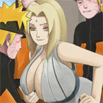 Tsunade vs Naruto Icon